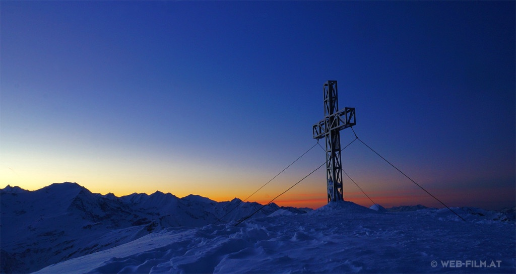 Sunset in the Alps / Sonnenuntergang Gastein - more see http://foto-verkauf.tk